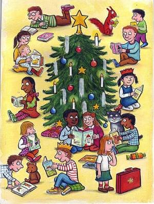 Leader Christmas Cards: British Chancellor Gordon Browns Christmas Card 2006
