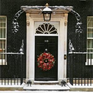 Leader Christmas Cards: Gordon Brown's Christmas Card 2008