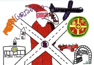 Leader Christmas Cards: David Cameron's Christmas card from 2007