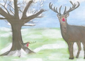 Leader Christmas Cards: Vince Cable's Christmas card from 2007