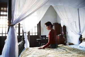 Aung San Suu Kyi film: Still from the film The Lady: Aung San Suu Kyi's Fight for Freedom