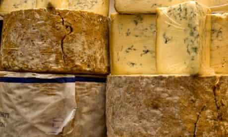 Stilton cheeses at Neal's Yard, Borough market