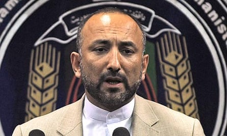 Hanif Atmar was Afghanistan's interior minister until his resignation on 6 June this year