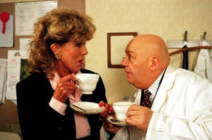 Coronation Street: Audrey Roberts and Fred Elliot