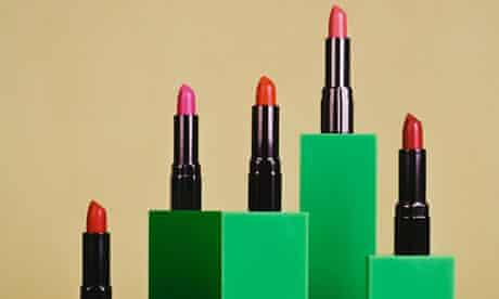 Detail from Elad Lassry's Lipstick, 2009
