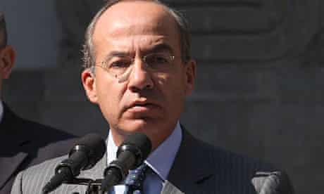 President Felipe Calderón