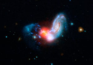 space monthly: A brilliant burst of star formation