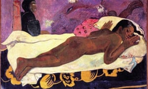 Painting from Paul Gauguin: Maker of Myth