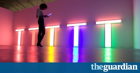 Call That Art No Dan Flavin S Work Is Just Simple Light