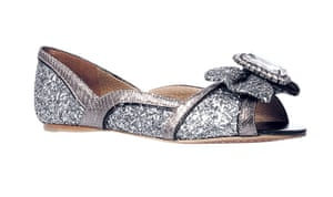 Christmas Day: Jewelled flats