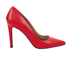 Christmas Day: Red heels