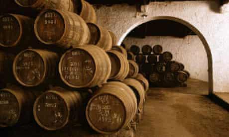Barrels of port