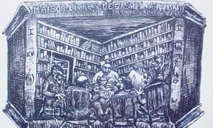 Chimen Abramsky's House of Books by Teddy Thomas
