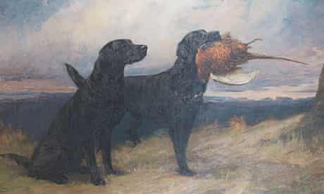 Maud Earl's portrait of Peter of Faskally