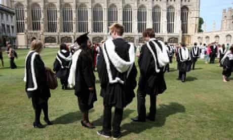 Cambridge University graduation 06/08/10