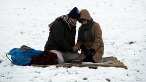 Winter Solstice: Druids Celebrate Winter Solstice At Stonehenge