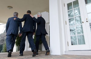 obama 2010: obama, bush and clinton