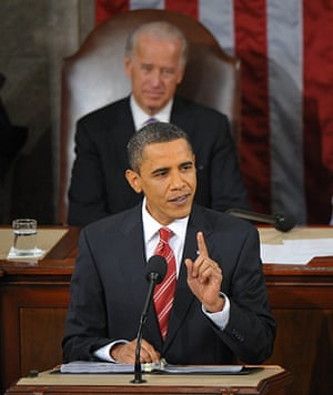 obama 2010: President Obama delivers his first State of the Union address