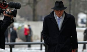 Britain's Business Secretary Vince Cable arrives at the Treasury in London
