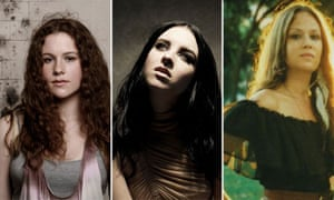 Clare Maguire, Katy B and Allison Pierce