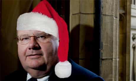 Eric Pickles Santa