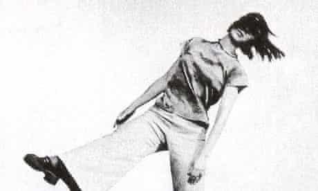 Yvonne Rainer dancing Trio A