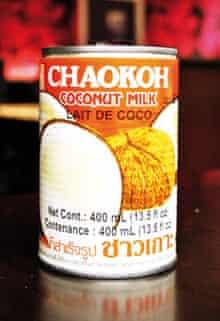 Santan (coconut milk)