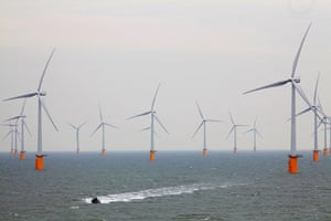 2010 green technologies: Thanet Offshore Wind Farm