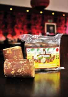 Gula Melaka (dark coconut block sugar)