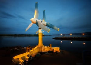 2010 green technologies: Atlantis Resources Corporation turbine