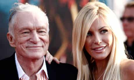 Hugh Hefner Announces Third Marriage To 24 Year Old On Twitter Us News The Guardian
