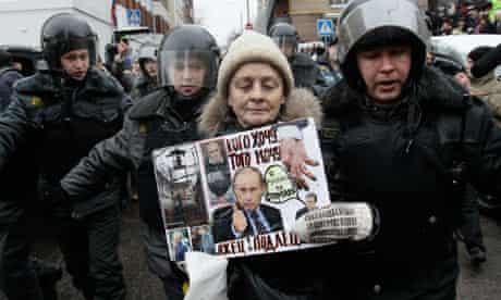 Mikhail Khodorkovsky's supporter