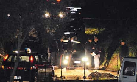 Calabrian carabinieri attend Filandari massacre