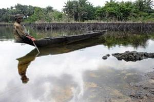 2010 year in environment: Gaagaa Gidom, a 60 year-old fisherman an