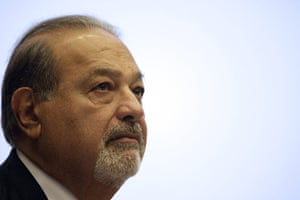 Year in business: Mexican tycoon Carlos Slim lectures at the American University of Beirut