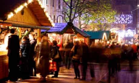 Christmas market Birmingham