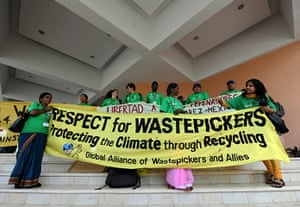 Week in wildlife: Activists of Global Alliance of Wastepickers