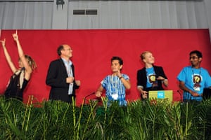 Week in Cancun COP16: During an intergenerational inquiry event