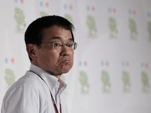 Week in Cancun COP16: Hideki Minamikawa, a deputy Japanese environment minister