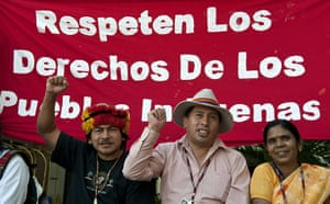 Week in Cancun COP16: Indigenous people protest on December 2,