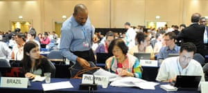 Week in Cancun COP16: Members of the G-77/China