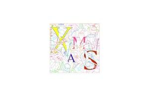Christmas card designed by Michael Craig-Martin