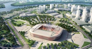 Russia's World Cup: sport
