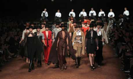 Hermes rtw s/s 2011 collection by Gaultier