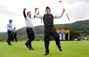 pictures of the year: Ryder Cup 2010 day three