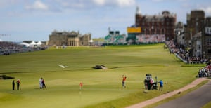 pictures of the year: Open Golf day four
