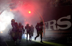 pictures of the year: Denver Broncos v San Francisco 49ers