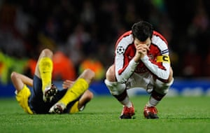 pictures of the year: Arsenal v Barcelona
