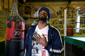 pictures of the year: Audley Harrison