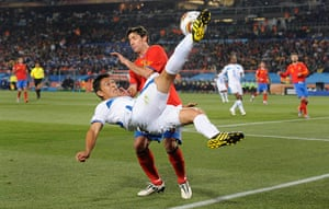 pictures of the year: Spain v Honduras
